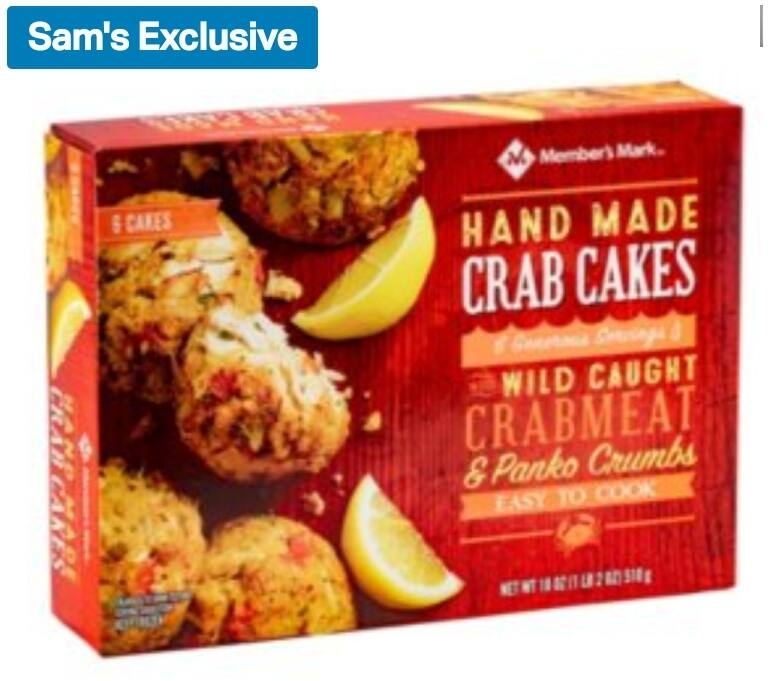 Hand made Crab Cakes for $13.96