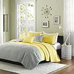 Walmart-full/queen Home Essence Apartment Sierra Bedding Coverlet Set w/shams & decorative pillows $21.24. Free ship to store or over $50.