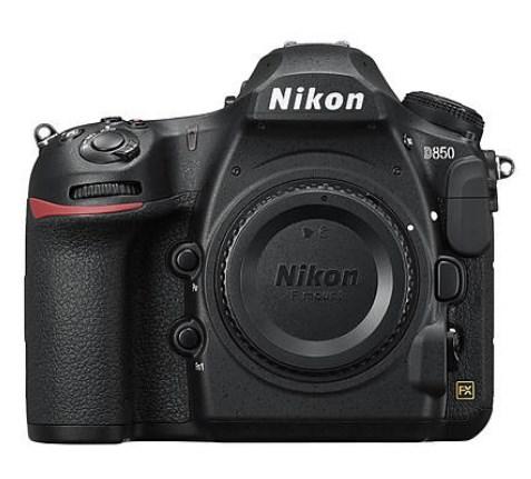 Nikon D850 Body Only - $2248.99 + No TAX - Intl Model - 1 yr Seller Warranty