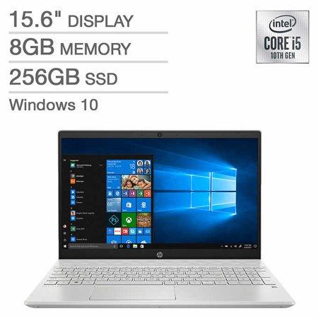 "HP Pavilion 15, i5-1035G1, 8GB ram, 256GB nvme ssd, 15.6"" 1080p touchscreen (Costco.com) $479.99"