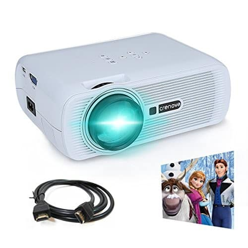 Lightning Deal: Video Projector, Crenova XPE460 1080P HD Projector for $49.98 + FS