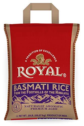 Royal Basmati Rice, 20 Pound Bag $17.84