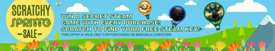 PC - Buy a Game as Low as $0.07 - Get Free Mystery Game (Scratchy Spring Sale) @ IndieGala // Works on Multiple Individual Purchases (Steam Random)