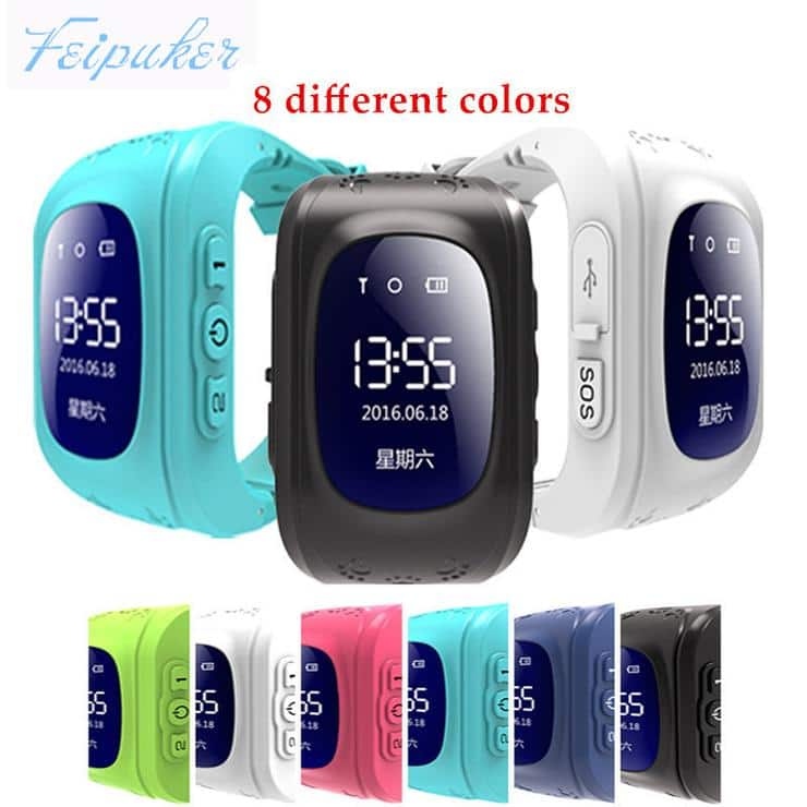 Q50 GPS Kid Safe Smart Watch SOS Call Location Finder (20%  off with coupon FALL2017 - $76)