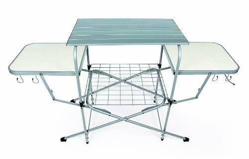 Camco 57293 Deluxe Grilling Table [Camping Grill Table] $49