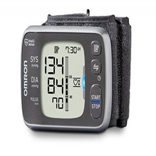 Omron 7 Series Wireless Wrist Blood Pressure Monitor (Model BP654) Clinically Proven Accurate with Bluetooth Smart Connectivity $49
