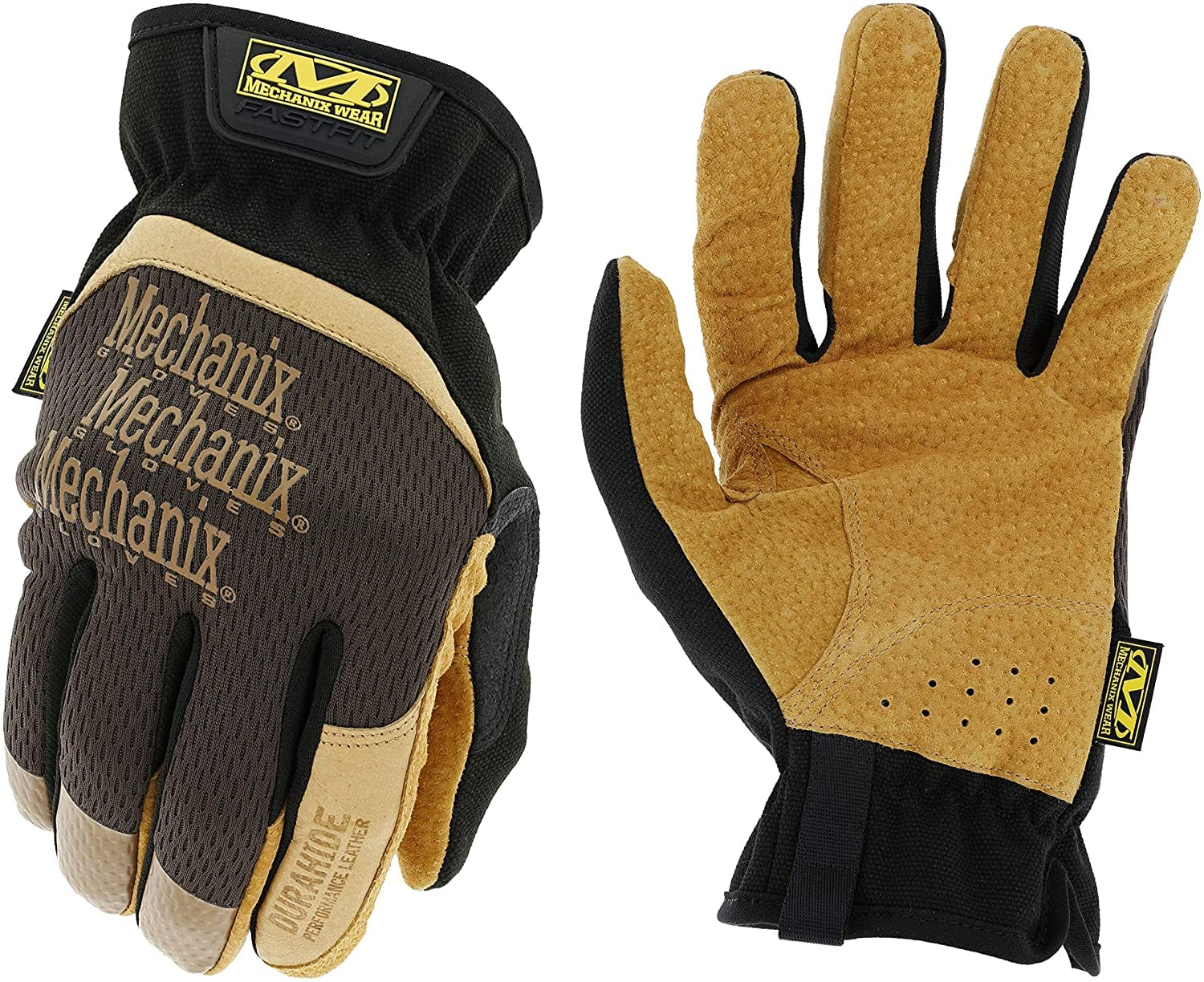 Mechanix Durahide Fast Fit Leather Work Gloves Large Size on Amazon for $9.84