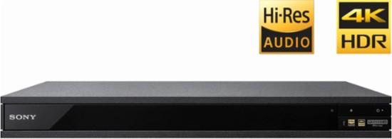 Sony UBP-X800 4K Ultra HD Blu-ray player with Wi-Fi® and Bluetooth® $149.99