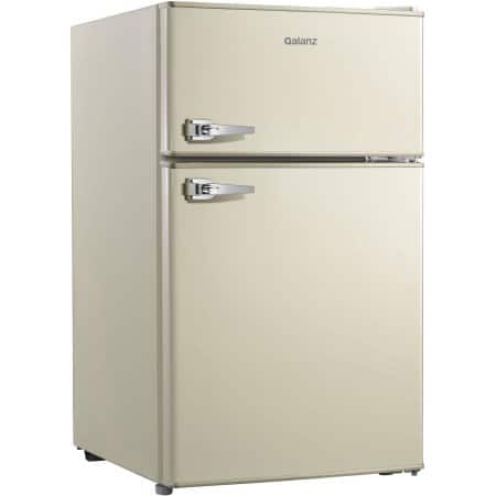 Galanz 3.1 cu ft Retro Double Door Refrigerator $92 at Walmart + Free Shipping