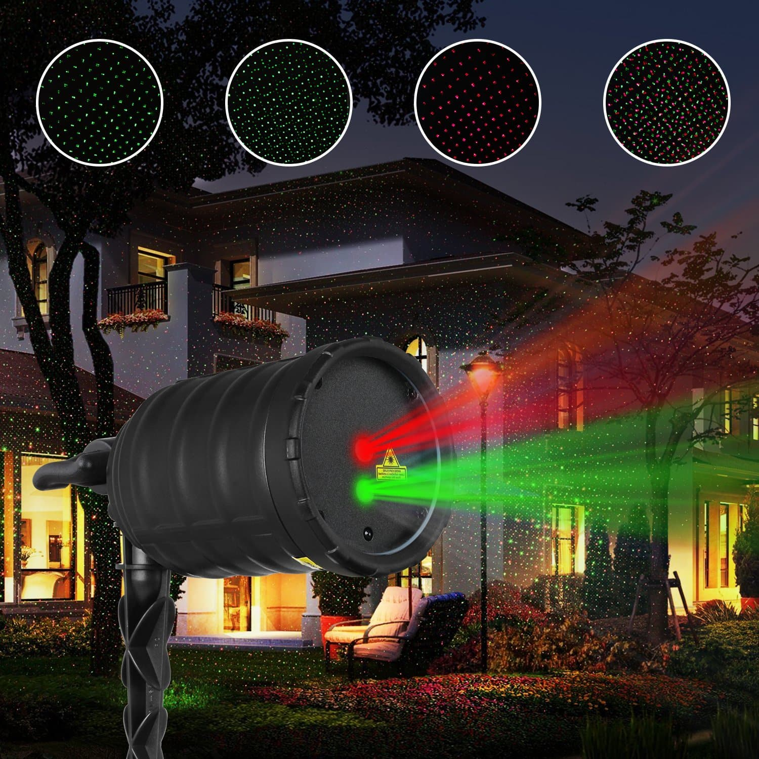 Christmas Laser Projector Lights $22 + Free Shipping