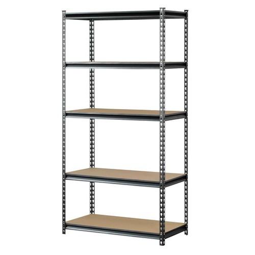"Muscle Rack 5-Shelf 72"" x 36"" x 18"" Storage Rack $38.52 + Free Shipping"