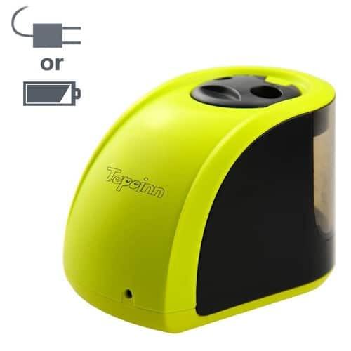 Electric Pencil Sharpener $7.79 + Free Shipping