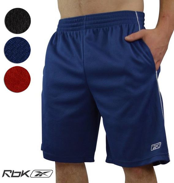 3-Pack Reebok Men's Performance Shorts $24.99 + Free Shipping