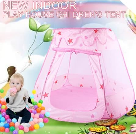 Portable Children Kids Toy Pop Up Play Tent Fairy Princess Girls and Boys Ball Pit Playhouse & Portable Children Kids Toy Pop Up Play Tent Fairy Princess Girls ...
