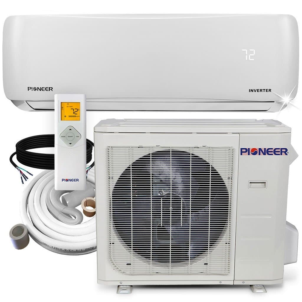 Pioneer 12,000 BTU 19.5 SEER 115V Ductless Mini-Split Air Conditioner Heat Pump System with 16 ft Installation Kit $674.62 + Free Shipping