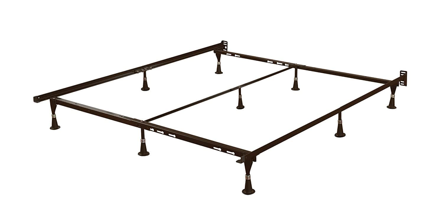 Signature Sleep Universal Metal Adjustable Bed Frame, Twin/Full/Queen $19.06