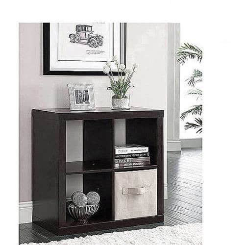 Better Homes and Gardens Square 4-Cube Storage Organizer, Multiple Colors $37.96