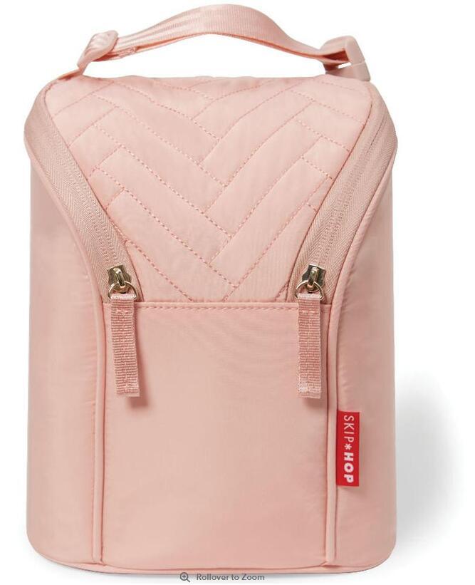 Skip Hop Suite Exclusive Double Bottle Bag - Blush $14.99