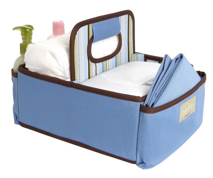 SaraBear(R) Diapering Organizer - Blue $15.98