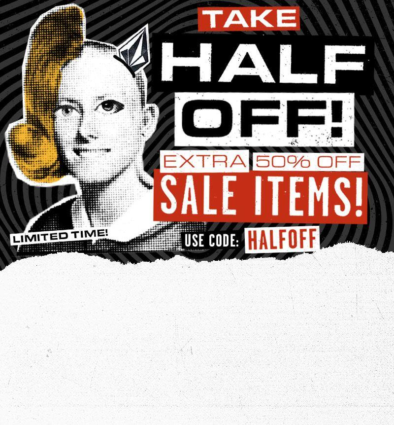 Volcom Running Extra 50% Off Sale Items