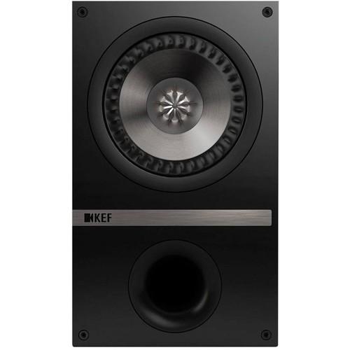 KEF - Passive 2-Way Bookshelf Speaker (Pair) - Black oak $250