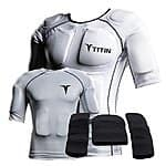 Titin Force Weighted Shirt System - White $165 XL  $199 Med