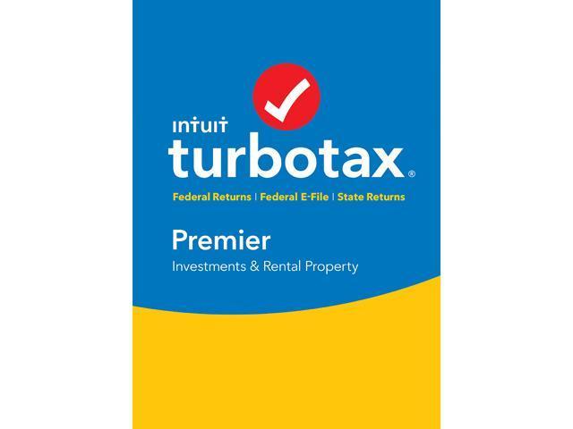 Newegg TurboTax Premier 2017 (Federal + State + Efile) $49.37 + Free S&H $49.39