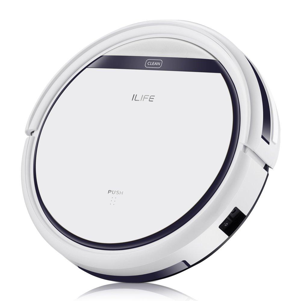 ILIFE V3s Pro Robotic Vacuum, Slim, Daily Planning, Auto Charge -- $119.99