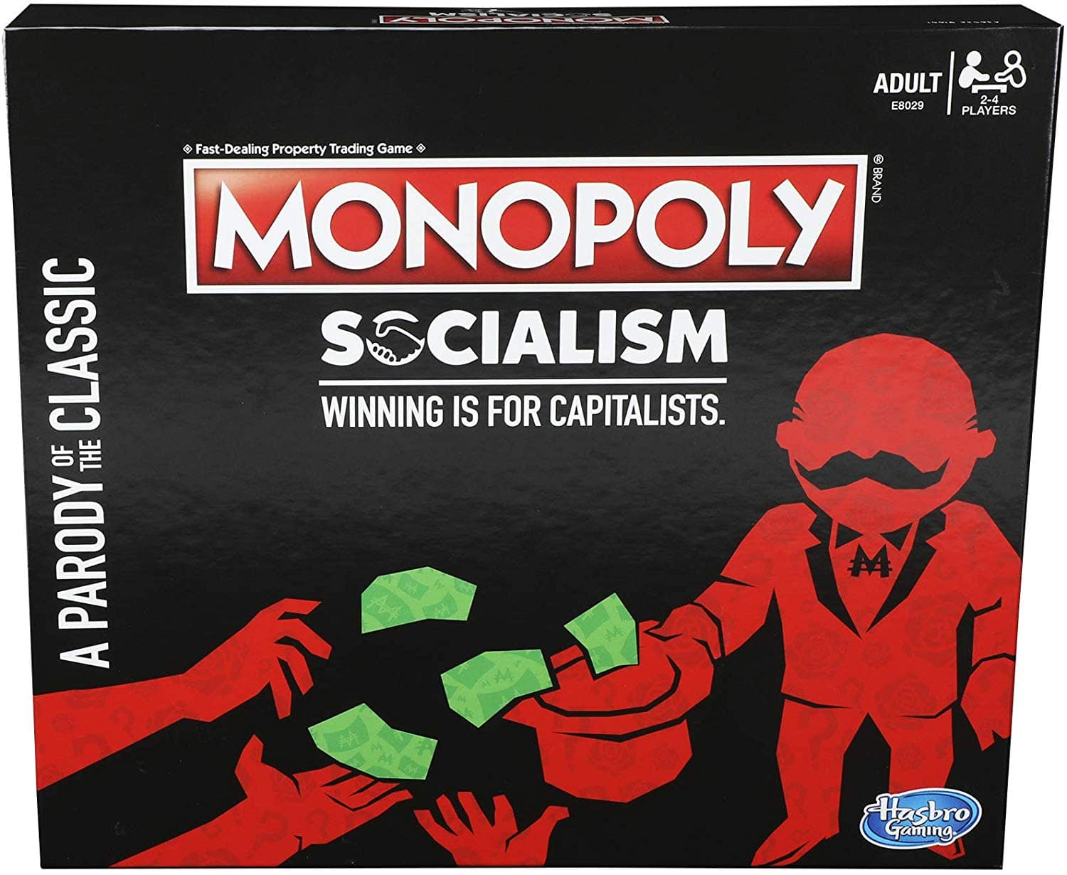 Monopoly: Socialism -- Winning is for Capitalists -- $19.99