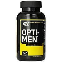 Deal: Optimum Nutrition Opti-Men Multivitamin 240ct via Jet.com $25.87 shipped