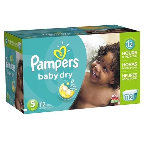 $2.00 OFF ONE Pampers Diapers OR Easy Ups Training Underwear Expires Sep 23, 2017  $25 (or $23.64 w/5% s&s)