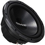 "KFC-W3013PS Kenwood - Performance Series 12"" Single-Voice-Coil 4-Ohm Subwoofer - Black $49.99"