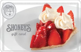$10 off a $50 Shoney's eGift Card $40