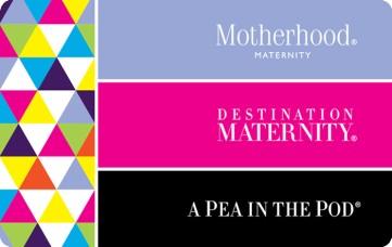 Save 20% on a $50 Destination maternity eGift Card $40