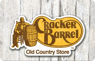 15% off $50 Cracker Barrel eGift Card from Kroger $42.5