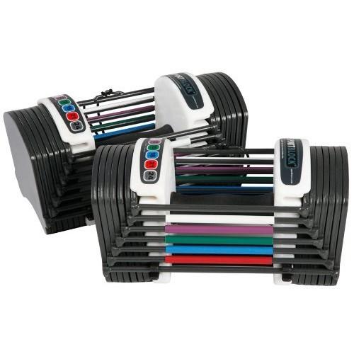 PowerBlock Sport 24 Pound Dumbbell Set [Black, 24 lbs per hand] $119