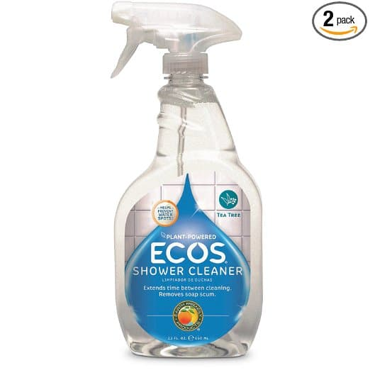 Earth Friendly Products Shower Cleaner with Tea Tree Oil, 22-Ounce (Pack of 2) $5.3