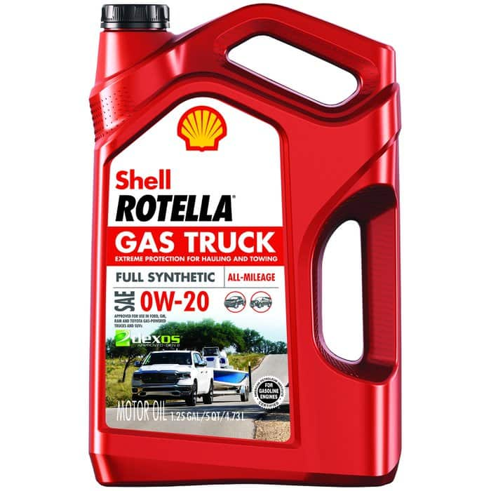 FREE after rebate @Pep Boys. Up to 10 qts of Shell Rotella Gas Truck Full Synthetic Engine Oil (0W-20, 5W-20, 5W-30).