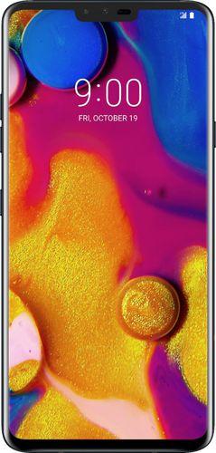 LG - V40 ThinQ™ with 64GB Memory Cell Phone (Unlocked) - Aurora Black $349.99