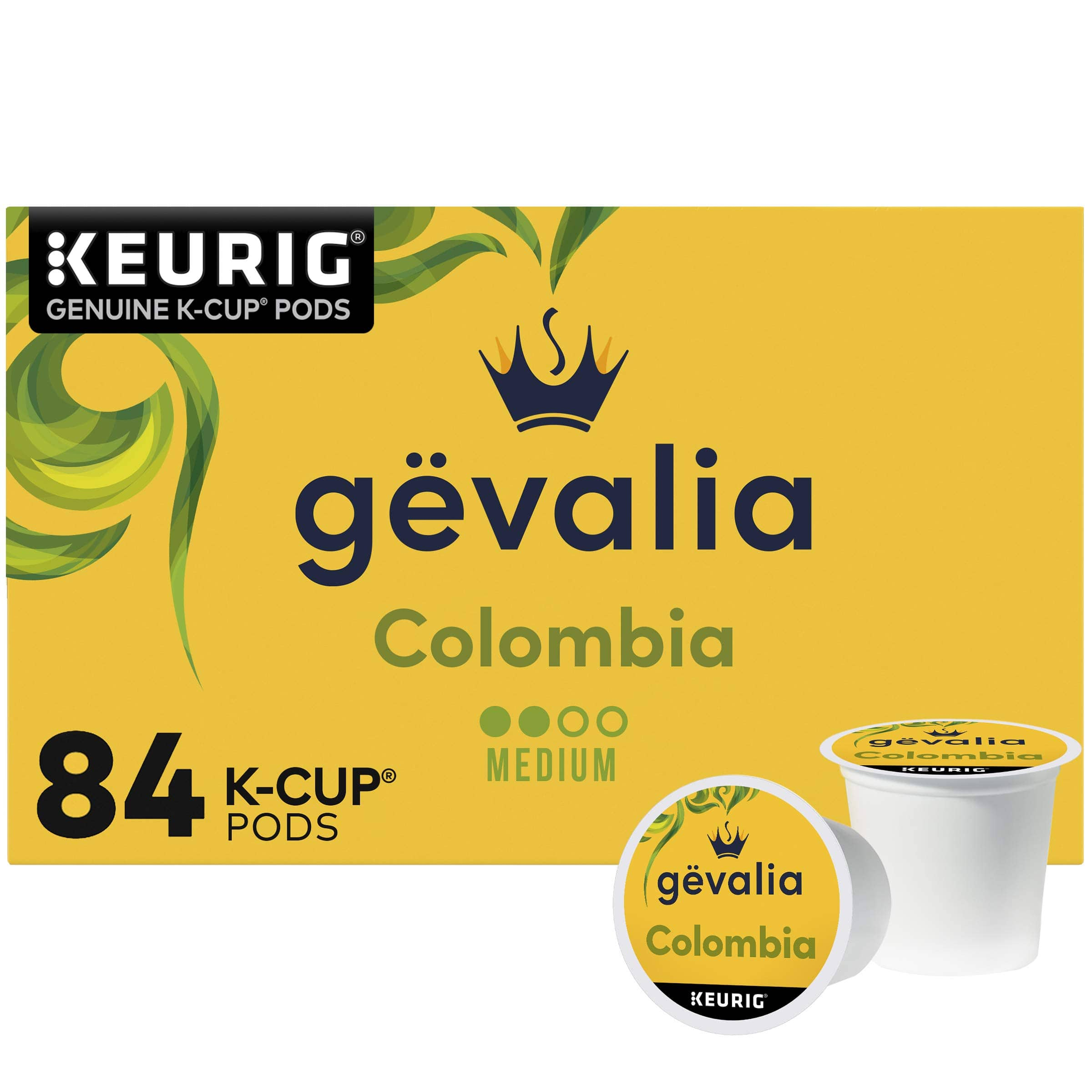 YMMV. $20.56/84 ct Box w/ 5% S&S after clipping 25% off coupon, before taxes. Gevalia Signature Blend Mild Light Roast K-Cup  84 ct box. $20.56