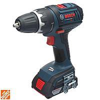 Home Depot Deal: Bosch 18-Volt Compact Tough Drill Driver, Impact Driver and (2) SlimPacks (2.0Ah) - CLPK234-181 - $159.00 + tax, FS, possible coupon