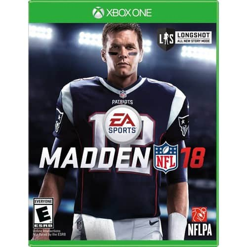 Madden NFL 18 PS4 & Xbox One $39.99