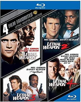 Rush Hour Trilogy, 4 Film Favorites: Lethal Weapon, The Naked Gun Trilogy [Blu-ray] $29.98