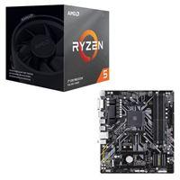 Micro Center: AMD Ryzen 5 3600XT and Gigabyte B450M DS3H Motherboard Bundle $252.98