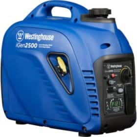 Westinghouse iGen2500 2,200/2,500-Watt Super Quiet Gas Powered Inverter Generator with LED Display & Parallel Capability - Online Only $399 - Free Shipping.