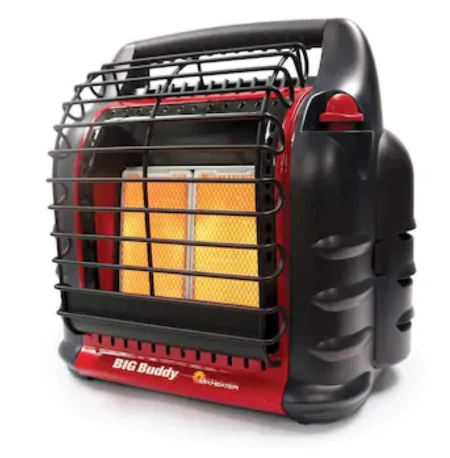 Mr. Heater 18000-BTU Portable Radiant Propane Heater - 50% OFF - Free store pickup $64.5