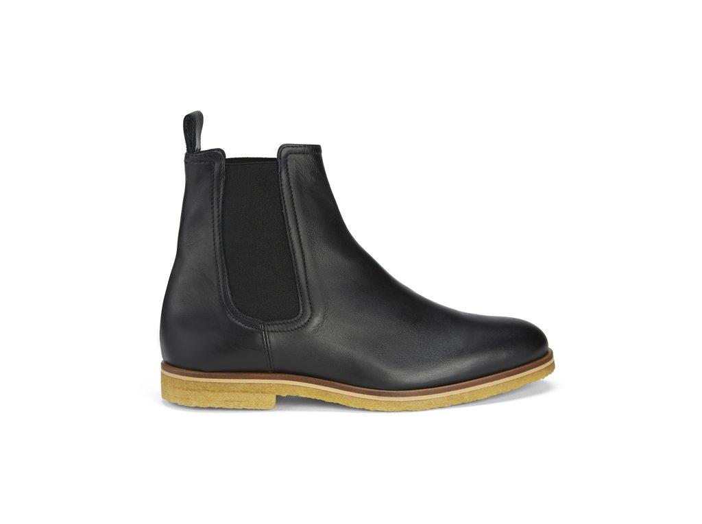 Marc Wenn Chelsea Boots. Luxury Black Leather. FINAL SALE $99.99
