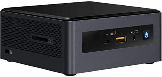 Intel NUC NUC8i5INH, Core i5-8265U, 8GB, AMD Radeon 540, no HD $199