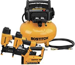 Bostitch Air Compressor Combo Kit, 3-Tool (BTFP3KIT) $199