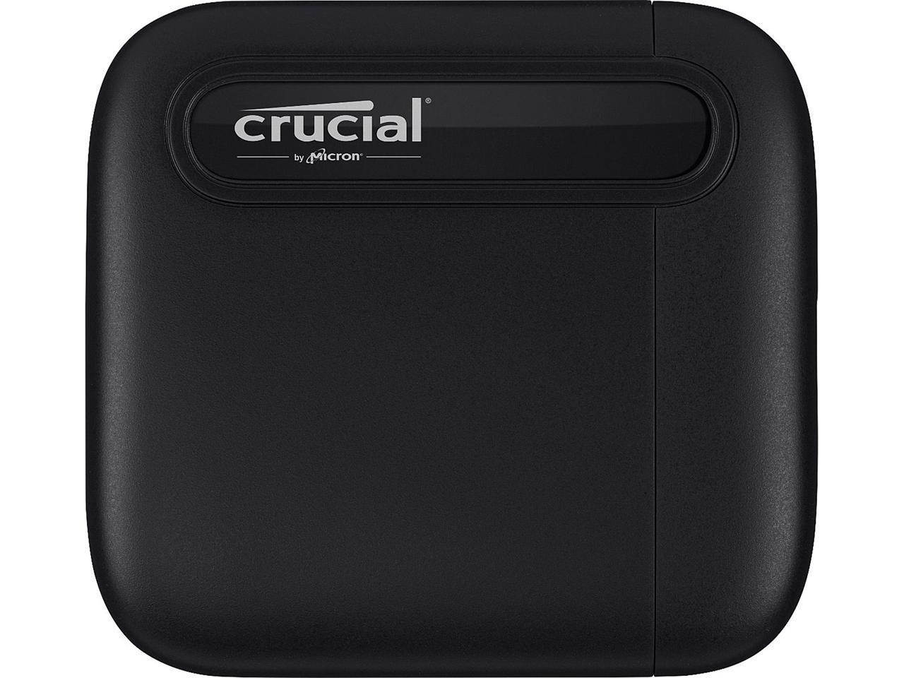 Crucial X6 500GB Portable SSD $50.99 Newegg